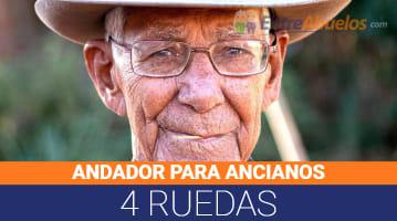 Andadores para Ancianos 4 Ruedas