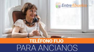 Teléfono Fijo para Ancianos