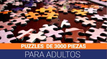 Puzzles de 3000 Piezas para Adultos