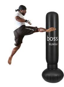 Ruxinggu - Sacos de Boxeo para Adultos con Soporte