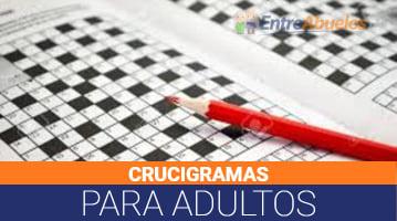 Crucigramas para Adultos
