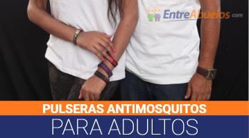 Pulseras Antimosquitos para Adultos