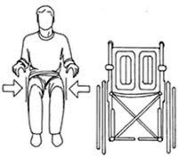 talla de la silla