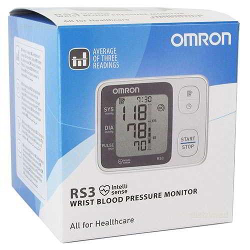 medidor de tensión omron rs3
